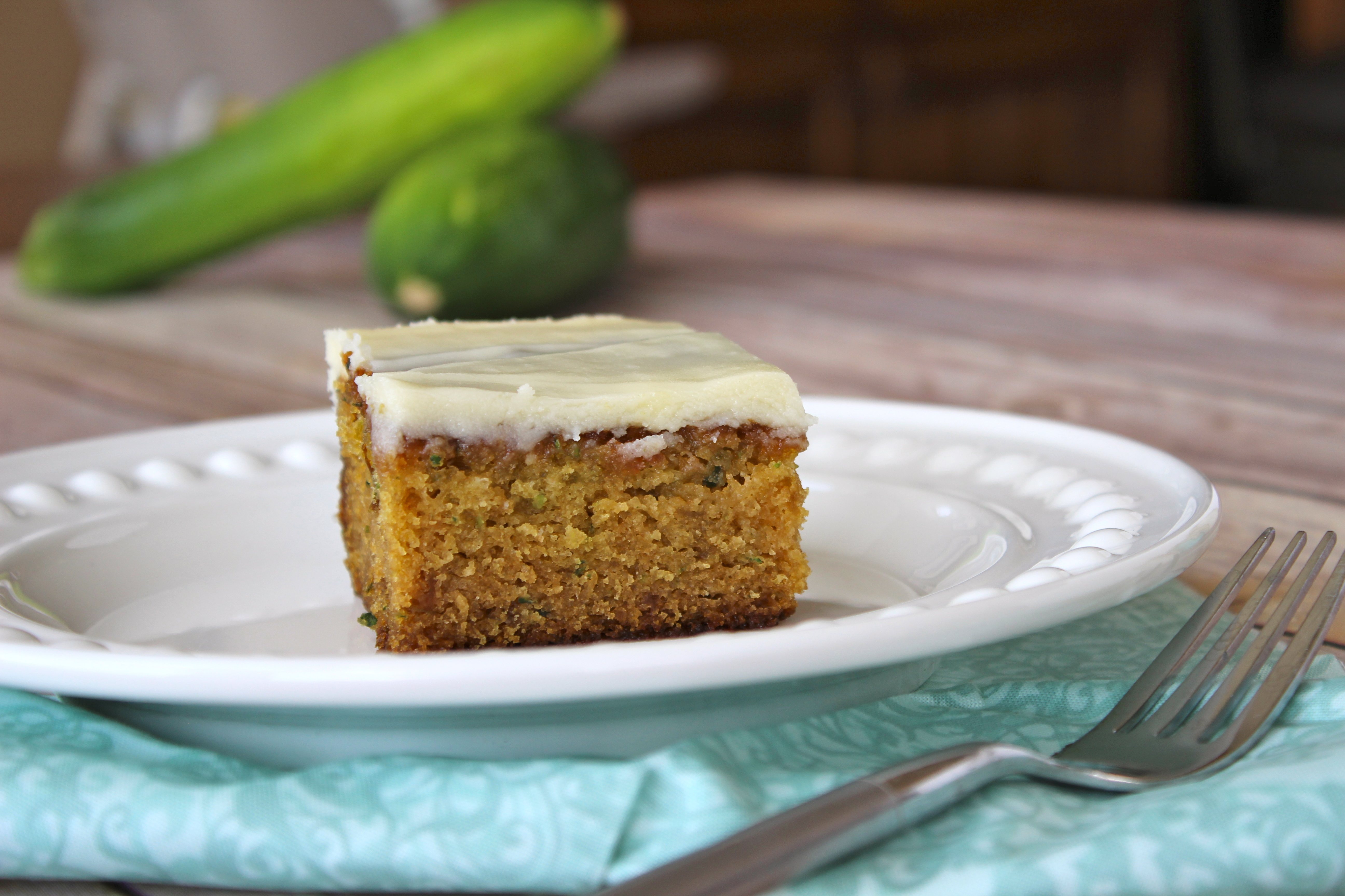 Grandma's Recipe Boxes: Grandma Rita's Zucchini Cake with ...